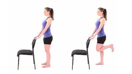 تقوية الركبة - تمرين ثني اوتارالركبة