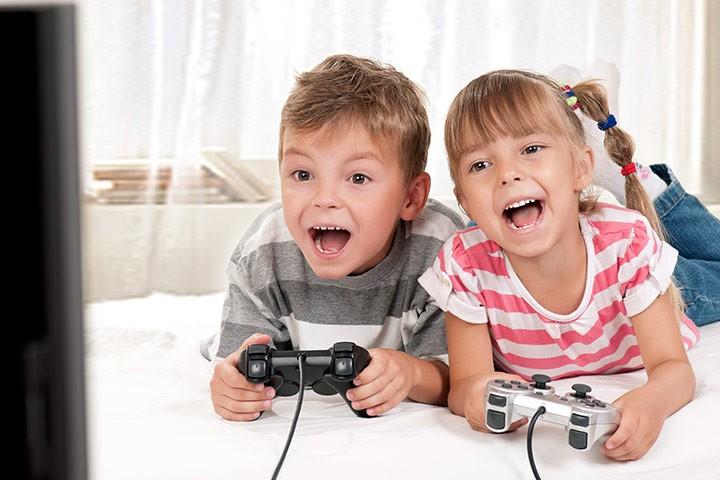 العاب-منزلية--للاطفال-الألعاب-الالكترونية
