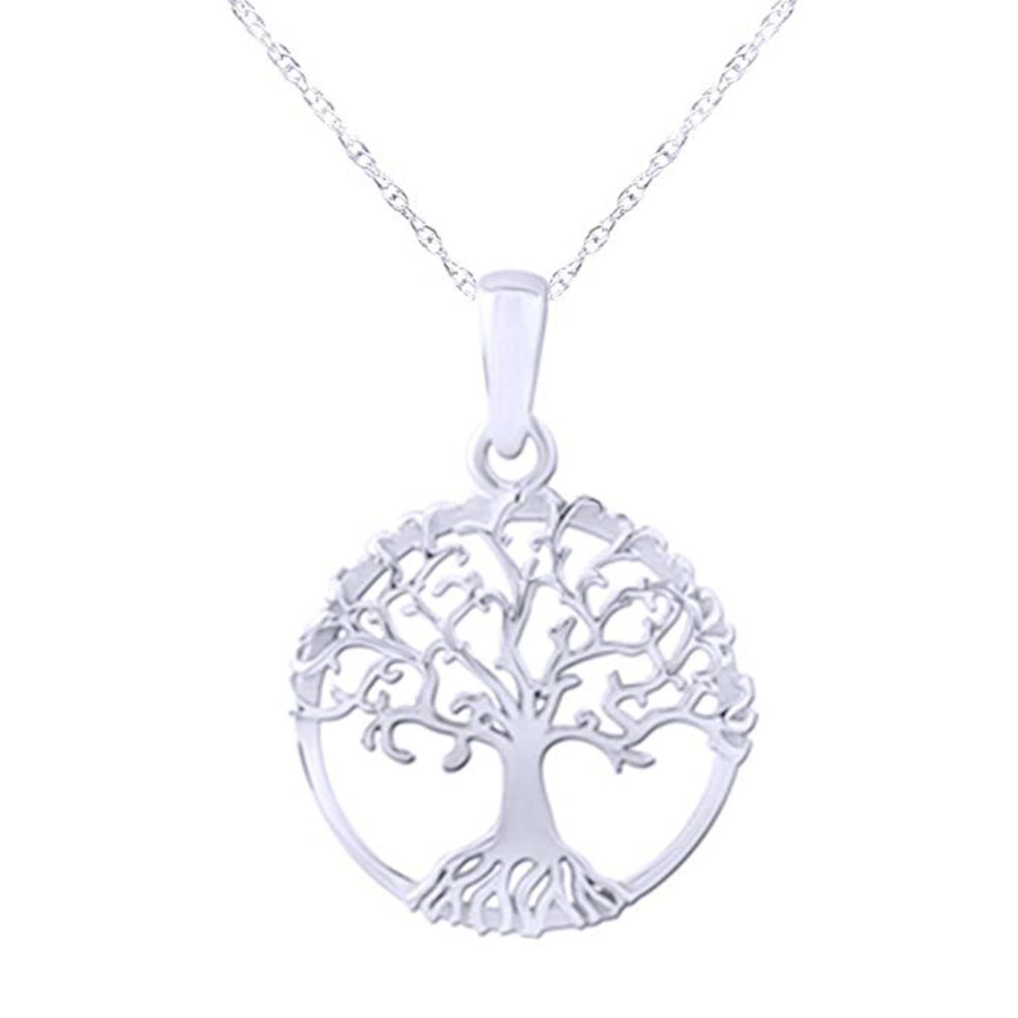 سلسلة-فضة-شجرة