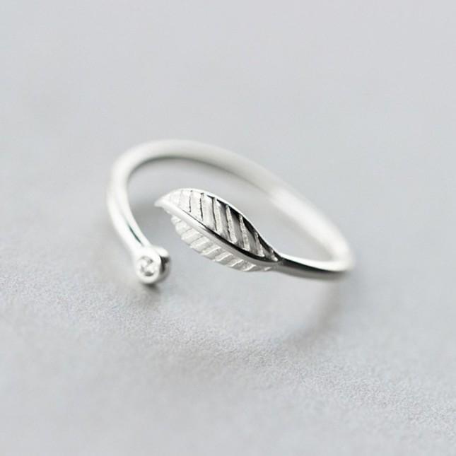 خاتم-فضة-ورقة-ضجر