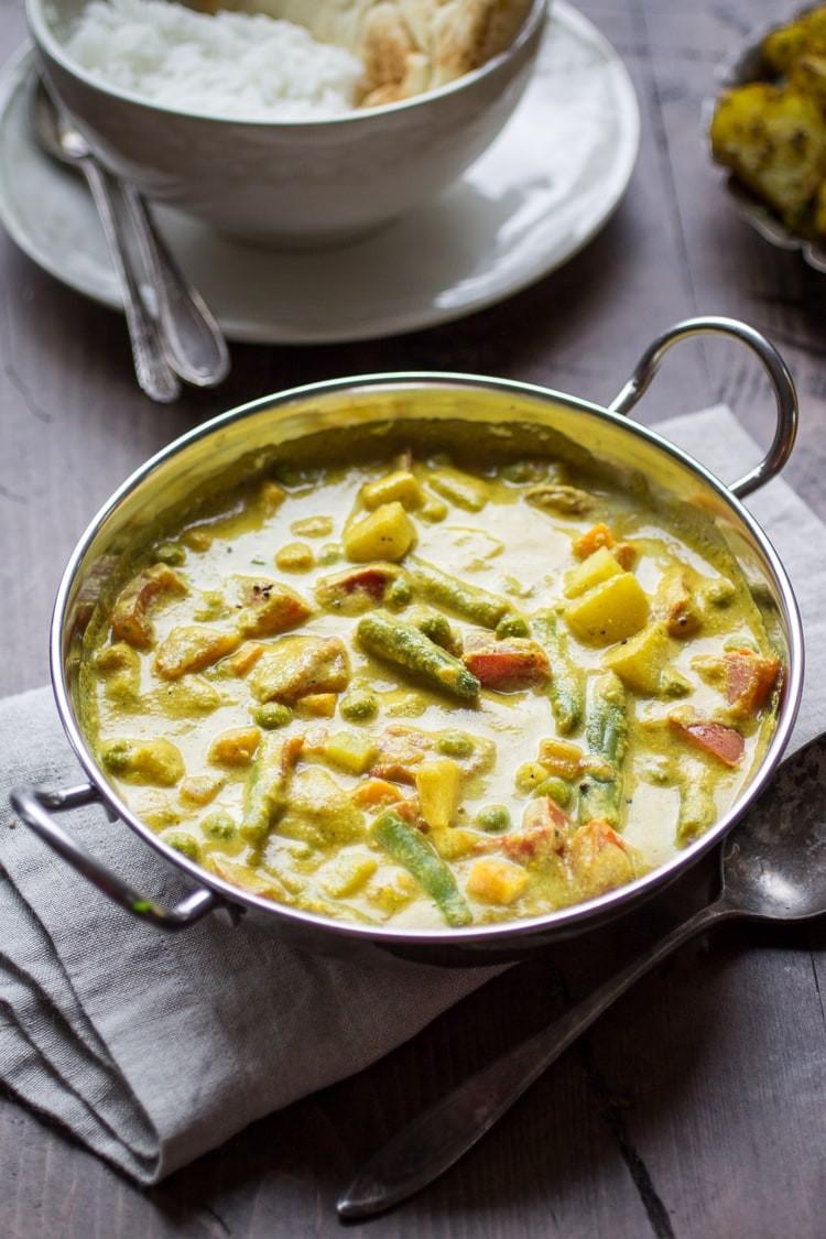 7 وصفات من المطبخ الهندي- الكورما