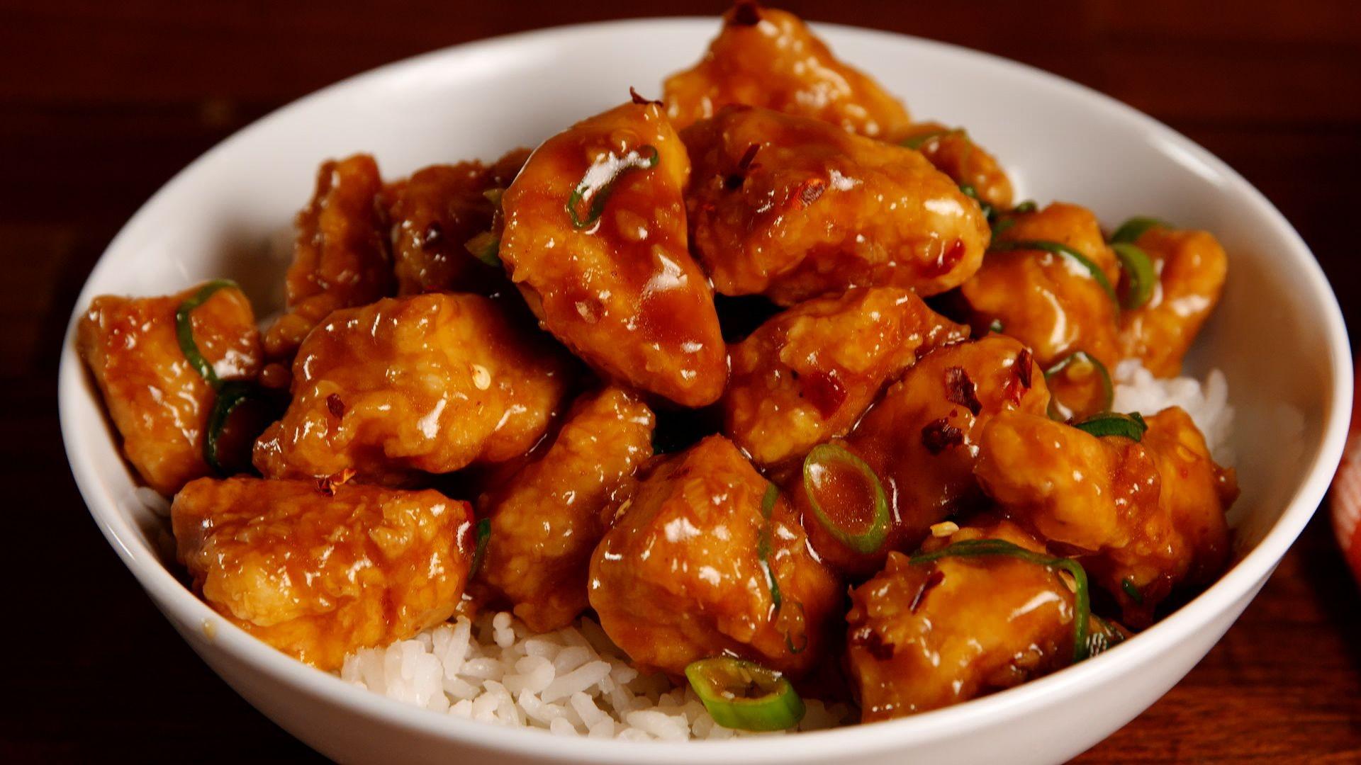 7 وصفات من المطبخ الصيني- الدجاج بالبرتقال