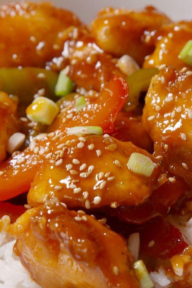 7 وصفات من المطبخ الصيني- دجاج سويت أند ساور