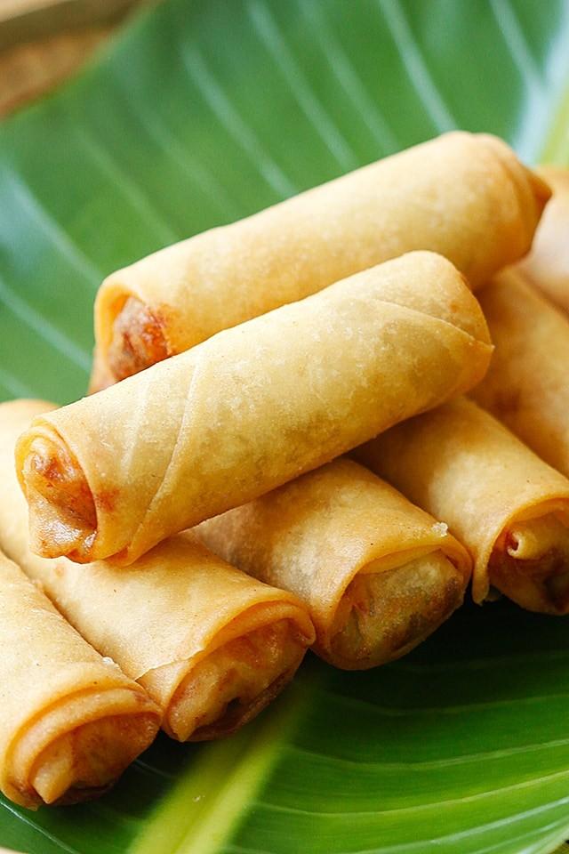 7 وصفات من المطبخ الصيني- السبرنج رول