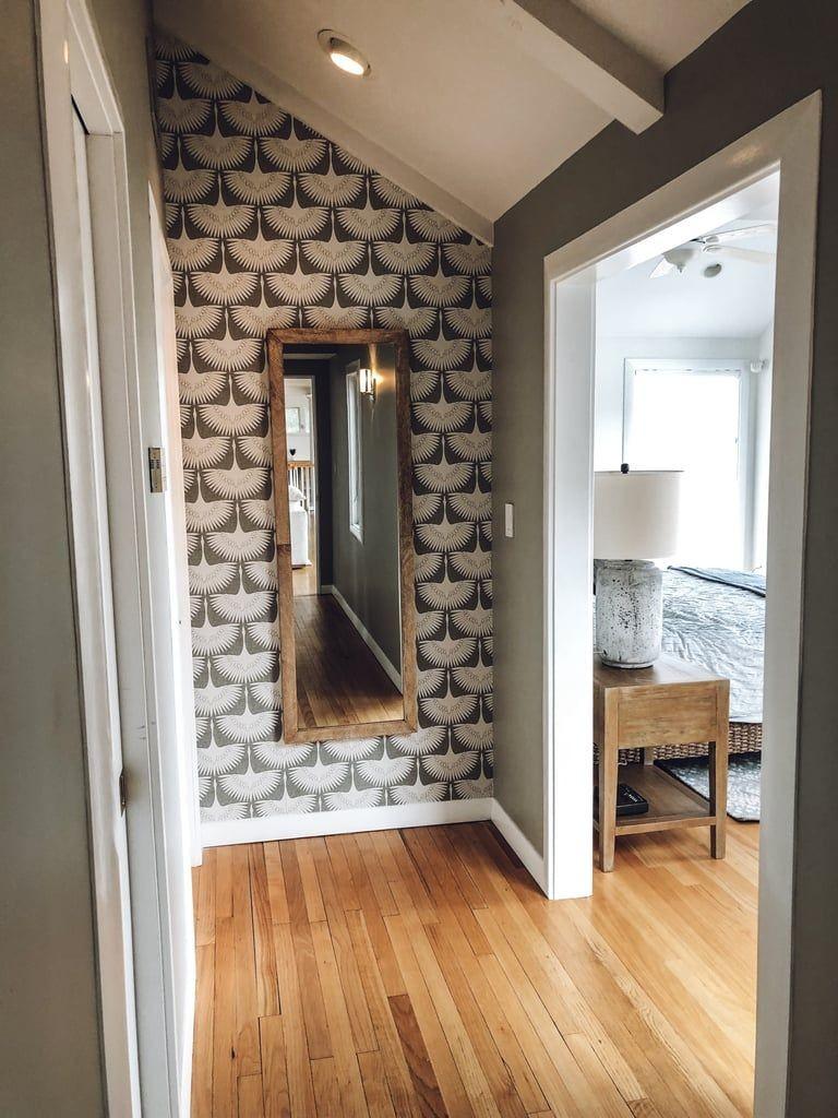 بالصور ديكور مدخل المنزل باللون البني-كرسي بالمدخل3