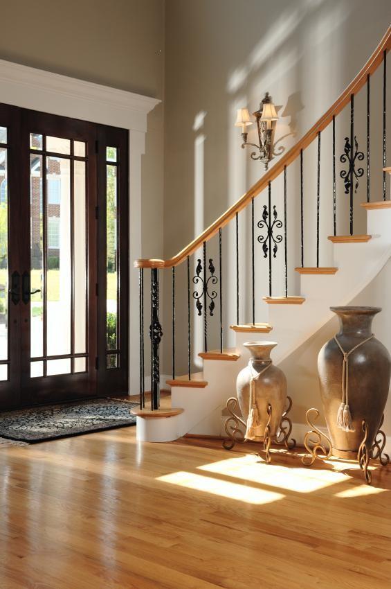 أشكال تحف لمدخل المنزل-مزهريات المدخل