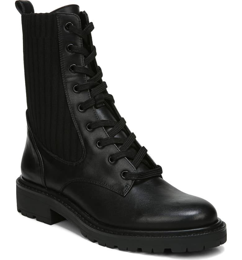 موضة أحذية شتاء 2021-الأحذية ذات الكعب السميك