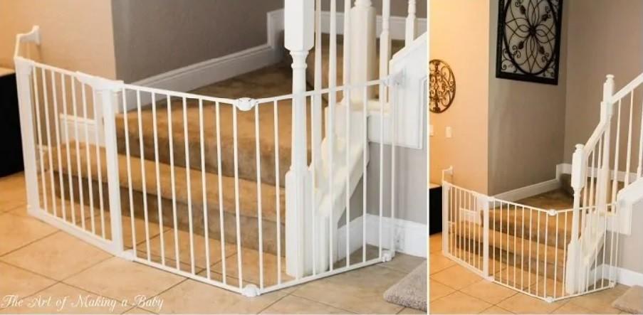 نصائح لحماية الأطفال من سلالم المنزل