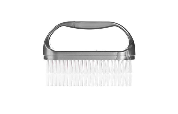كيف أزيل المناكير من الأظافر بدون مزيل أدوات العناية بالاظافر فرشاة الاظافر