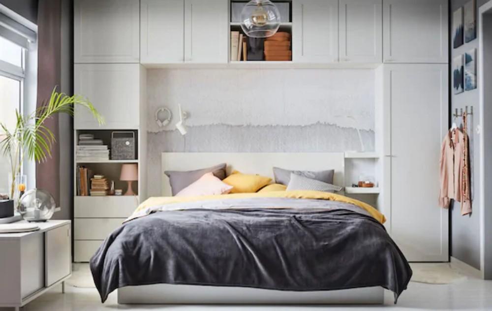 خزائن حائط - غرفة نوم - 1