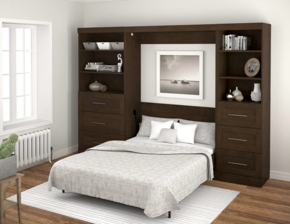 خزائن حائط - غرفة نوم - 4
