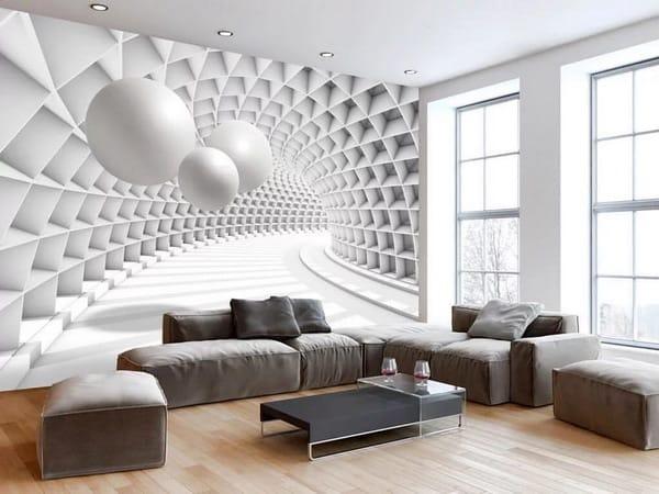 أشكال ورق الحائط ثري دي - 4
