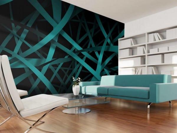 أشكال ورق الحائط ثري دي 5