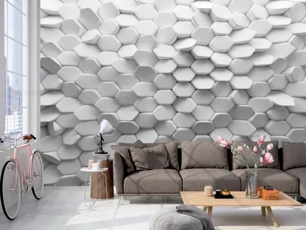 أشكال ورق الحائط ثري دي 7