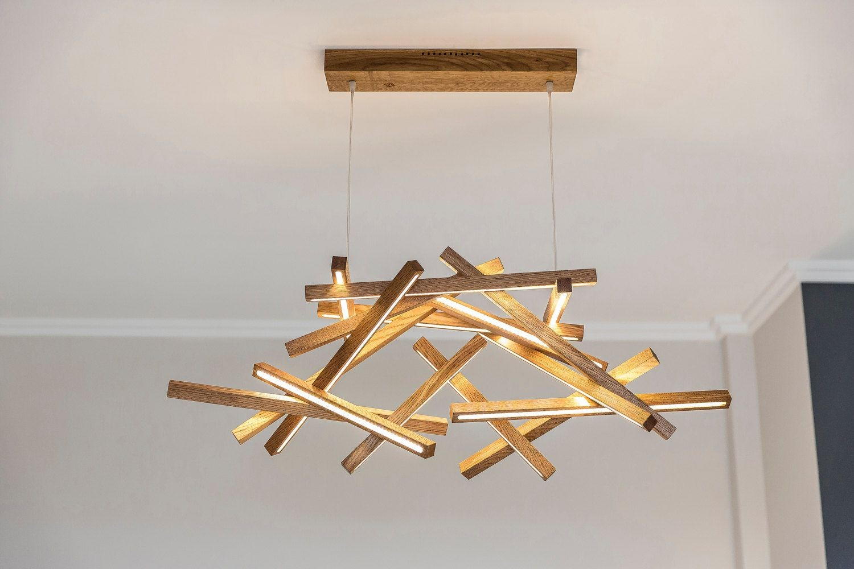ديكورات-سقف-معلق-خشب-نجف-خشبي