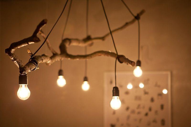 ديكورات-سقف-معلق-خشب-جزع-خشبي-بالإضاءات