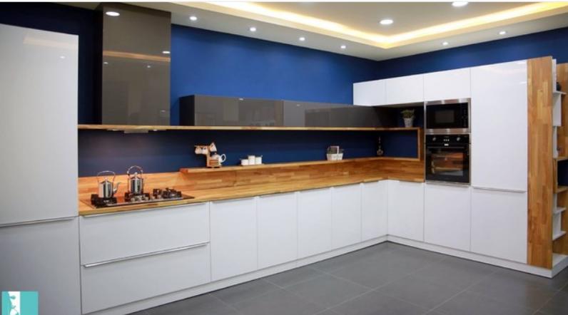 ديكورات-مطابخ-عراقية-ديكور-مطبخ-حديث-بالأزرق